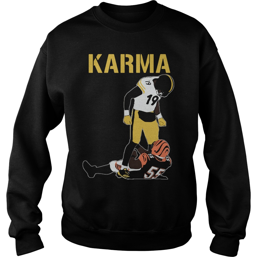 Official Steelers Karma JuJu Smith-Schuster Vontaze Burfict Sweatshirt