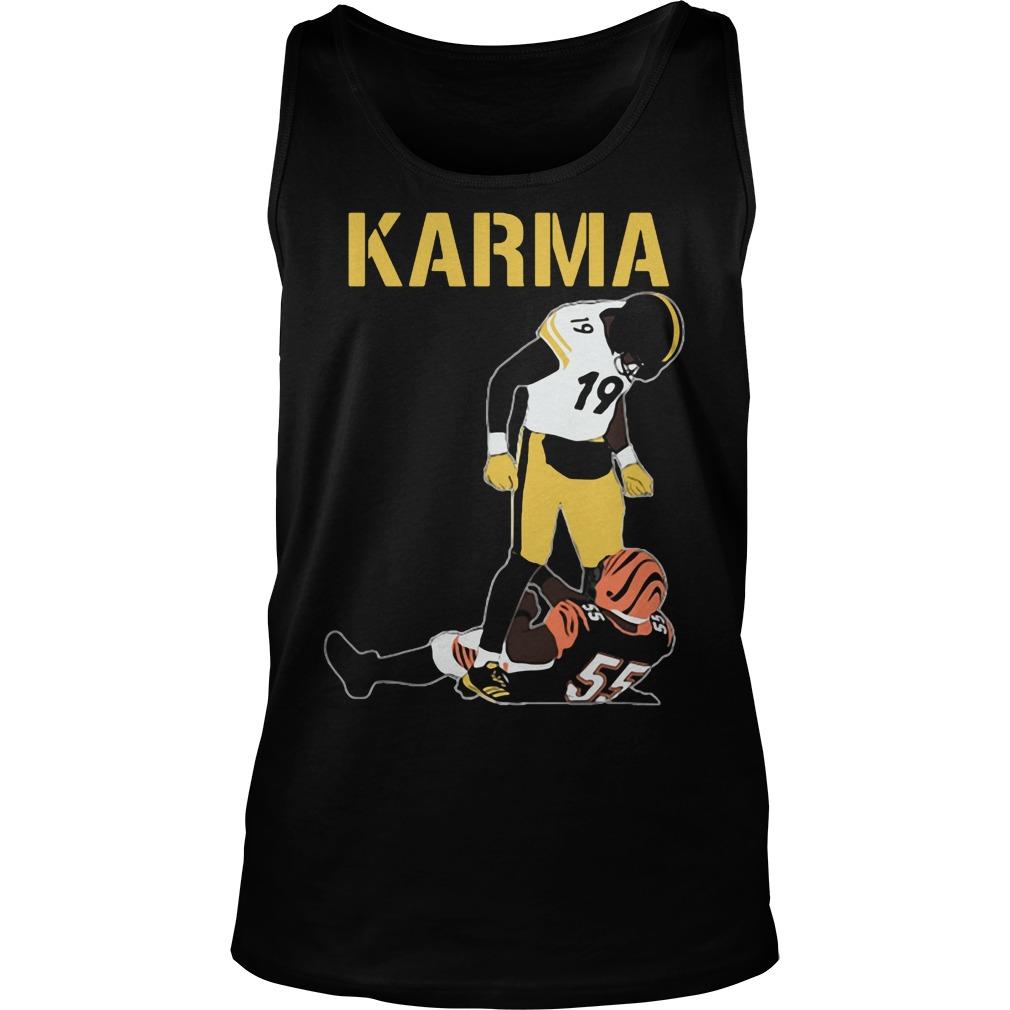 Official Steelers Karma JuJu Smith-Schuster Vontaze Burfict Tank top