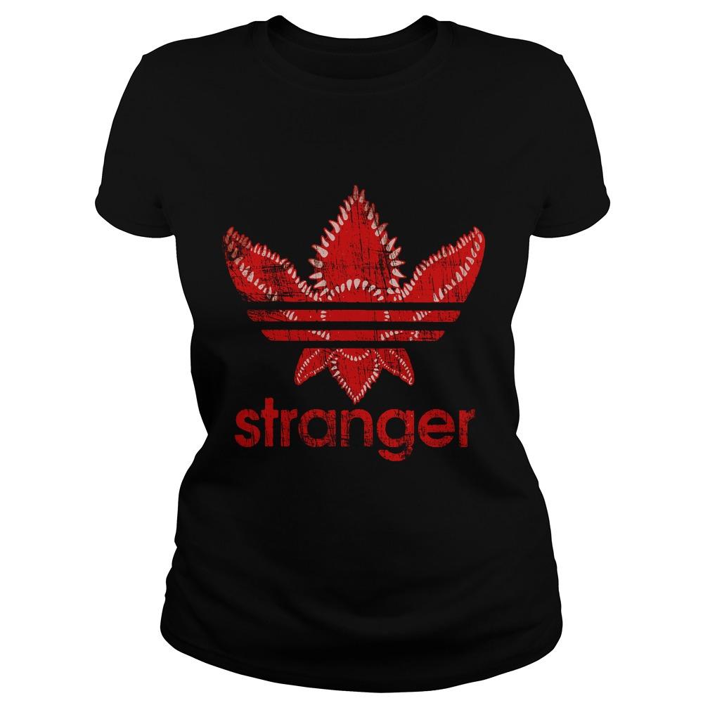 Stranger Things Adidas Ladies tee