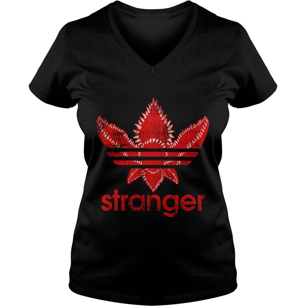 Stranger Things Adidas V-neck t-shirt