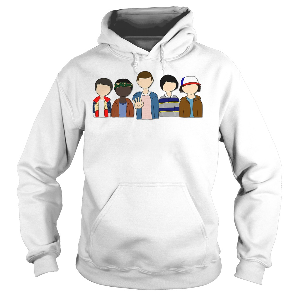 Stranger Things: Will Lucas Eleven Mike Dustin Hoodie