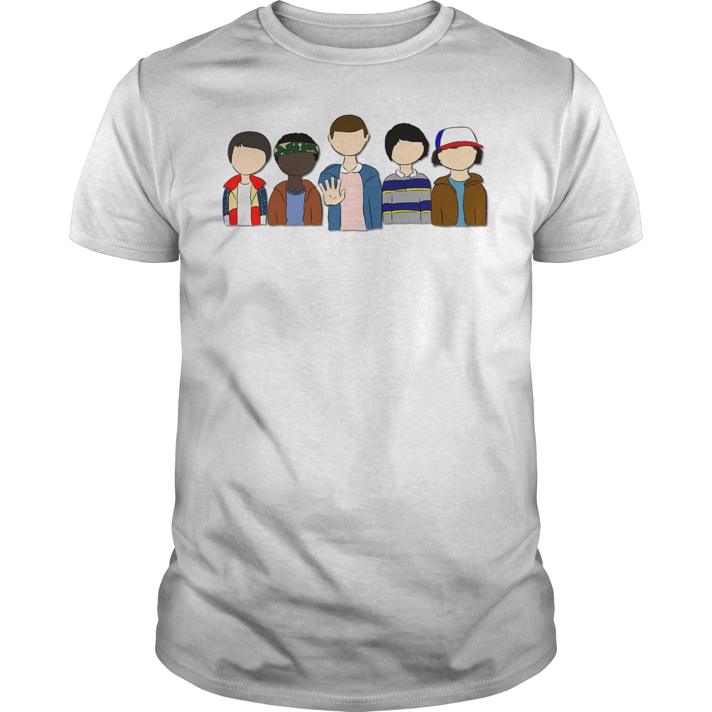 Stranger Things: Will Lucas Eleven Mike Dustin shirt