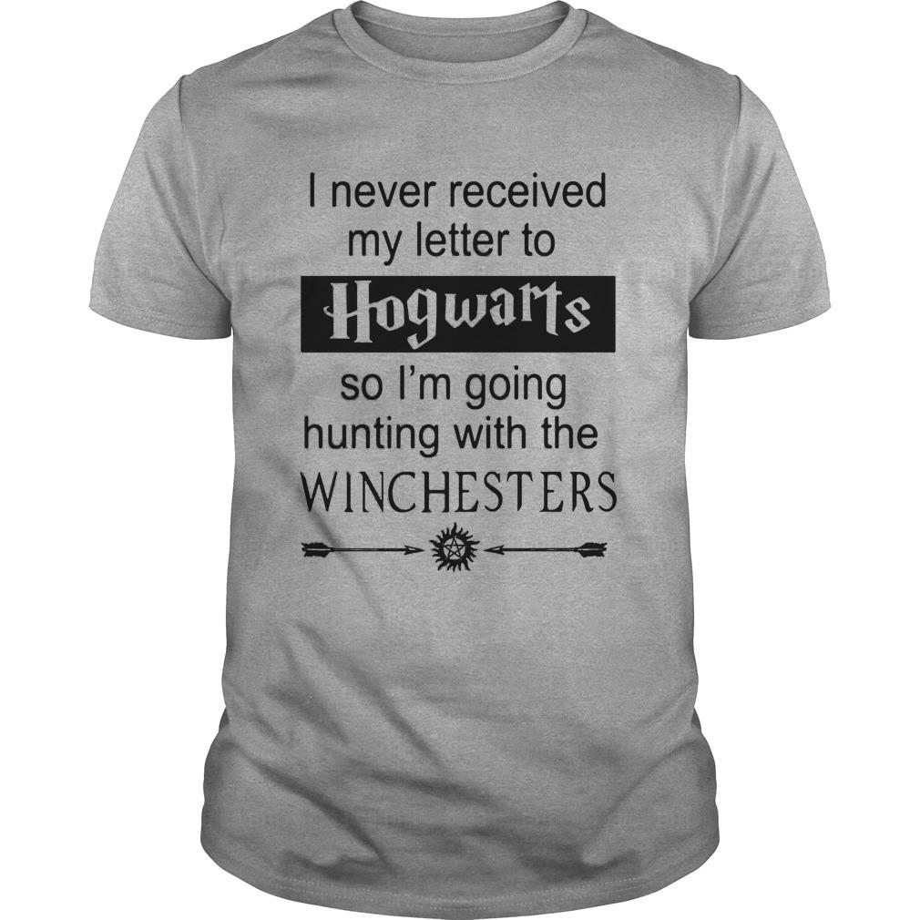Supernatural I never received my letter from Hogwarts shirt