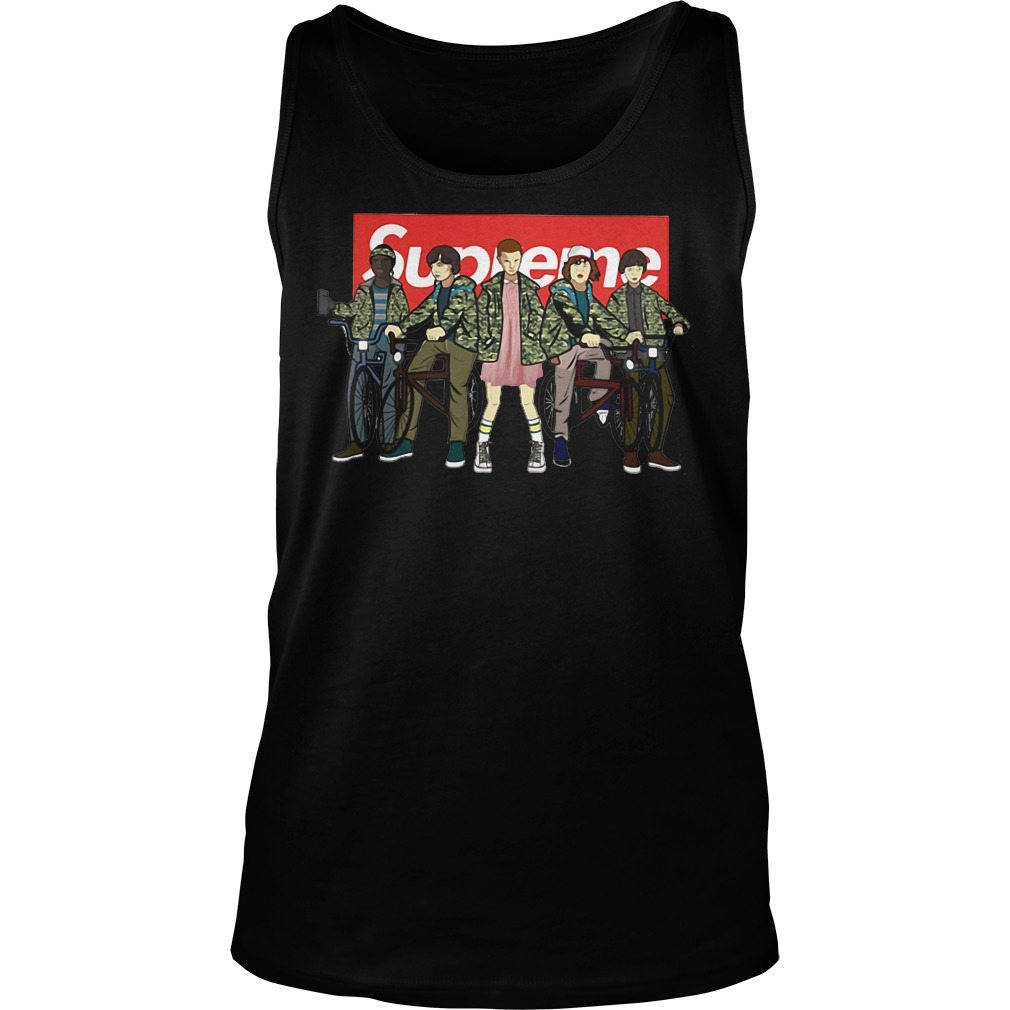 Supreme Stranger Things Tank top
