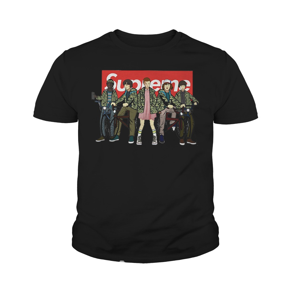 Supreme Stranger Things Youth Tee