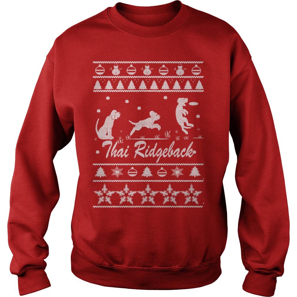 Thai Ridgeback Chirstmas sweater