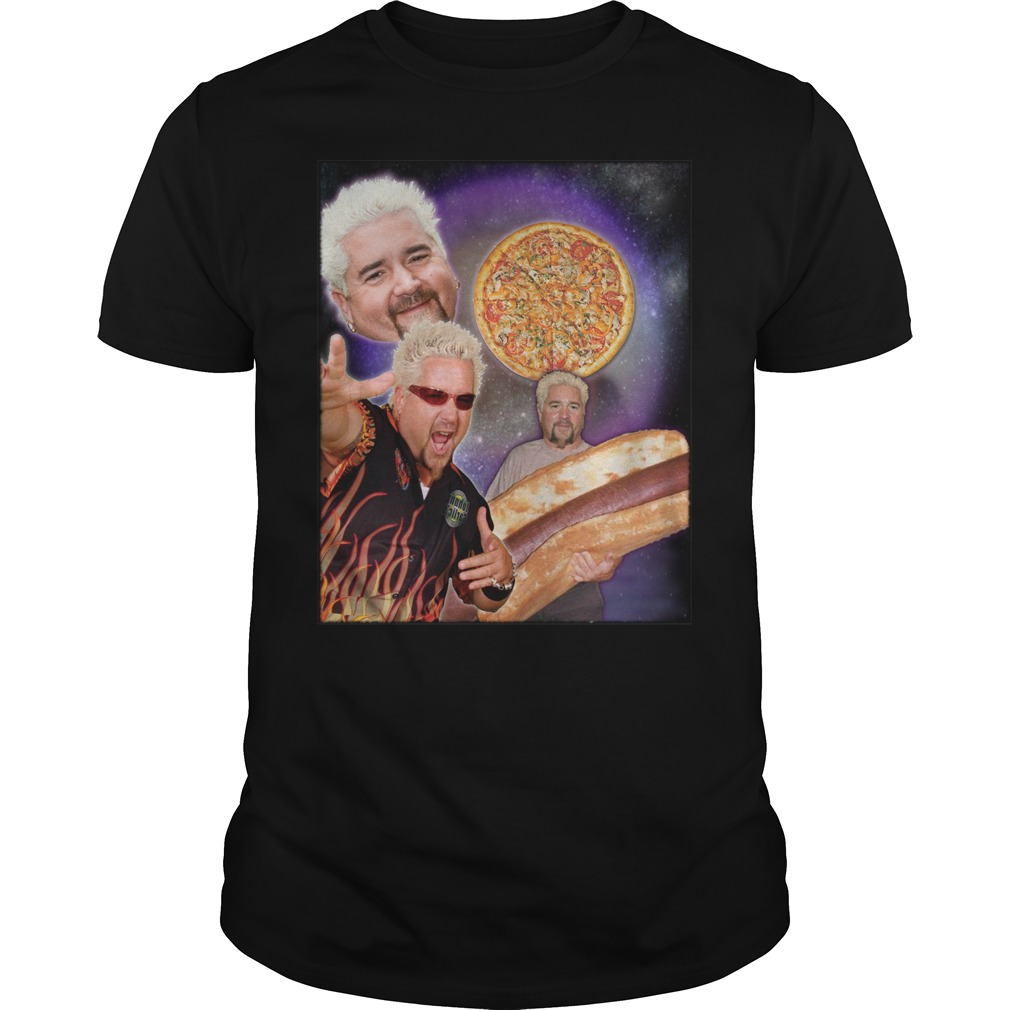 Three guy Fieri Moon shirt
