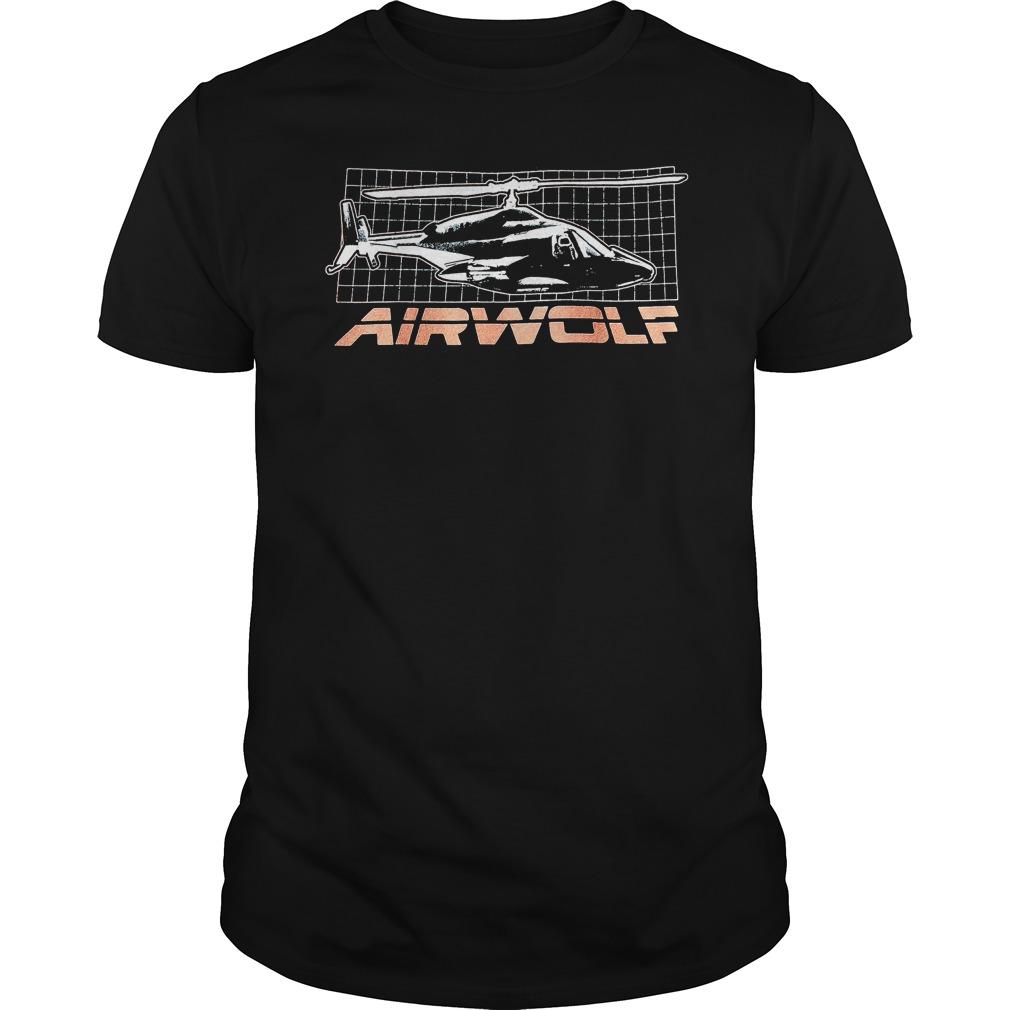 Trevco Airwolf Grid shirt