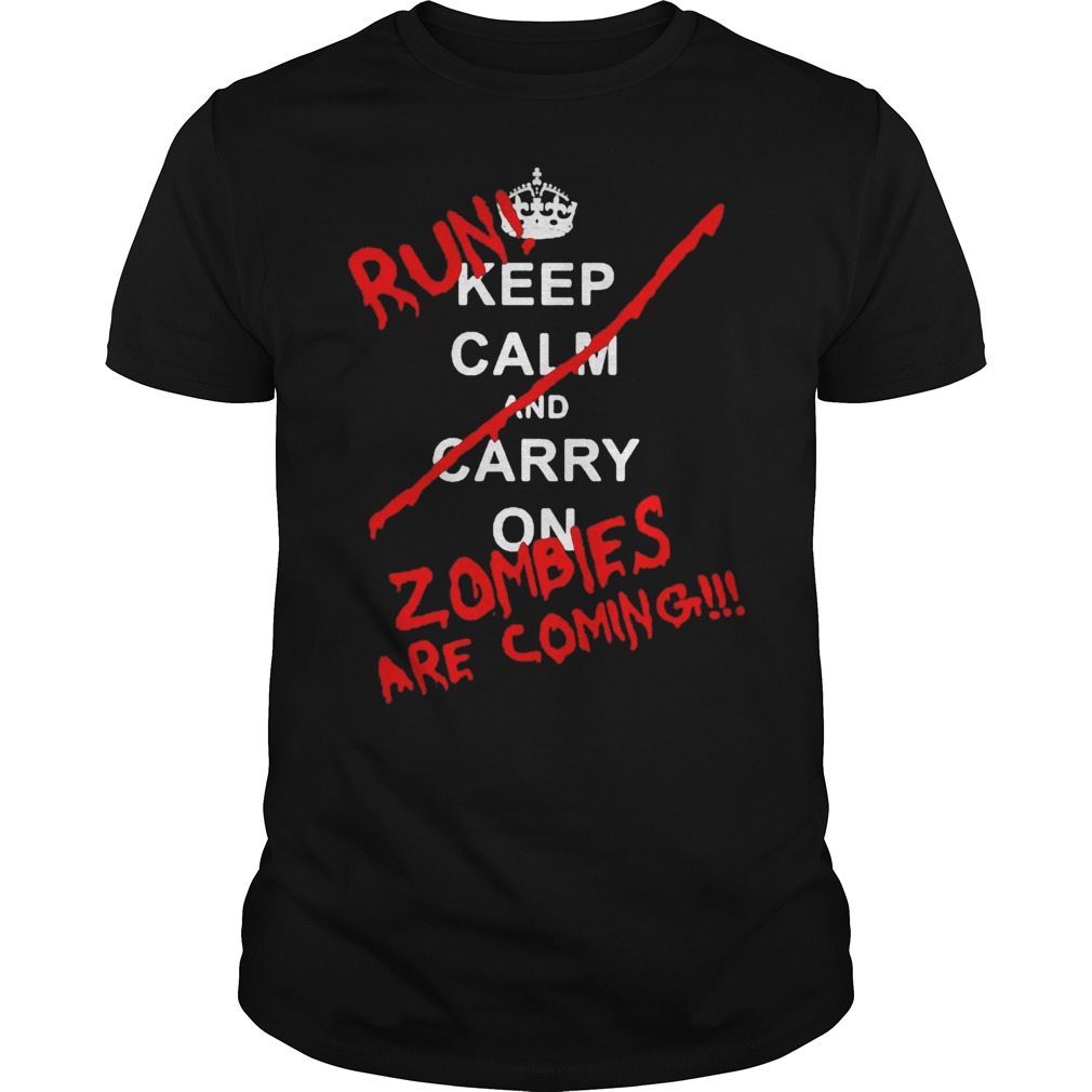 Twd fans - zombies are coming shirt