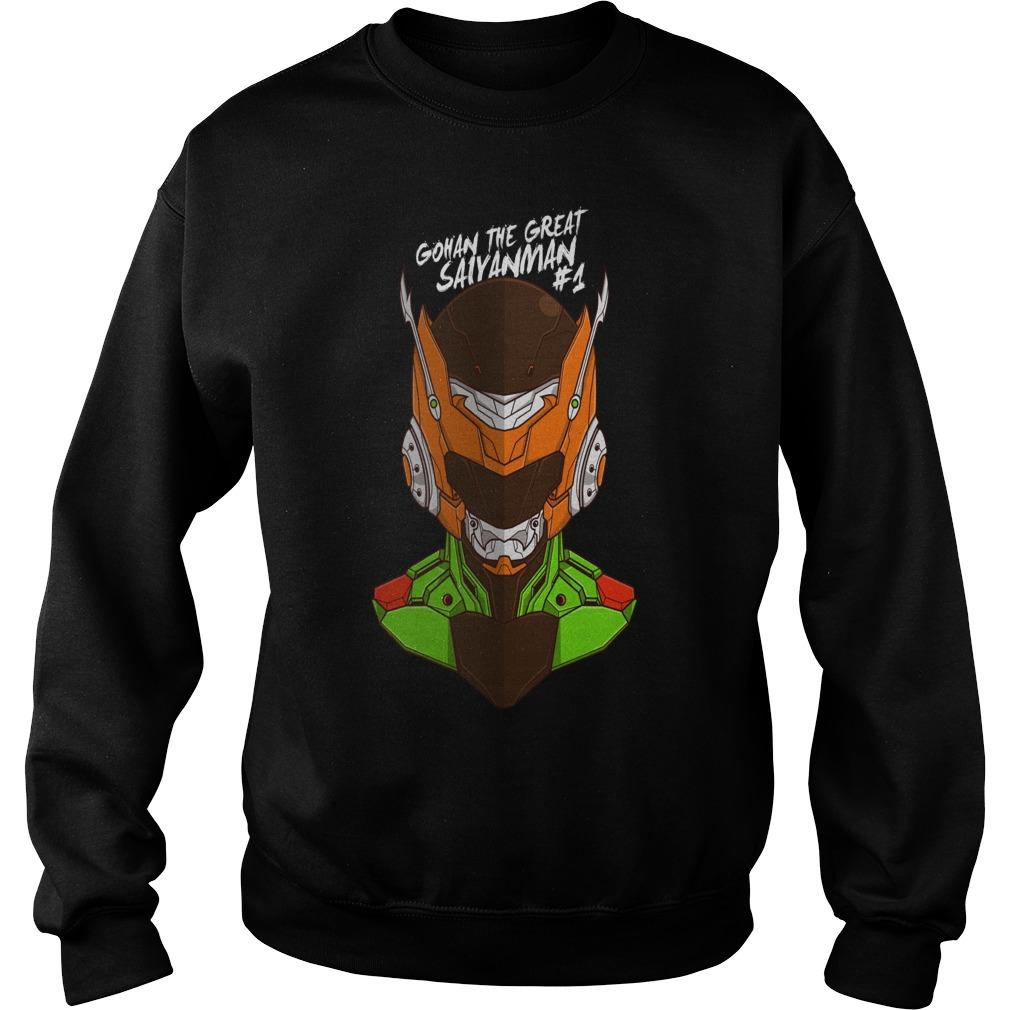 Awesome Tee Robo Gohan anime manga Sweater