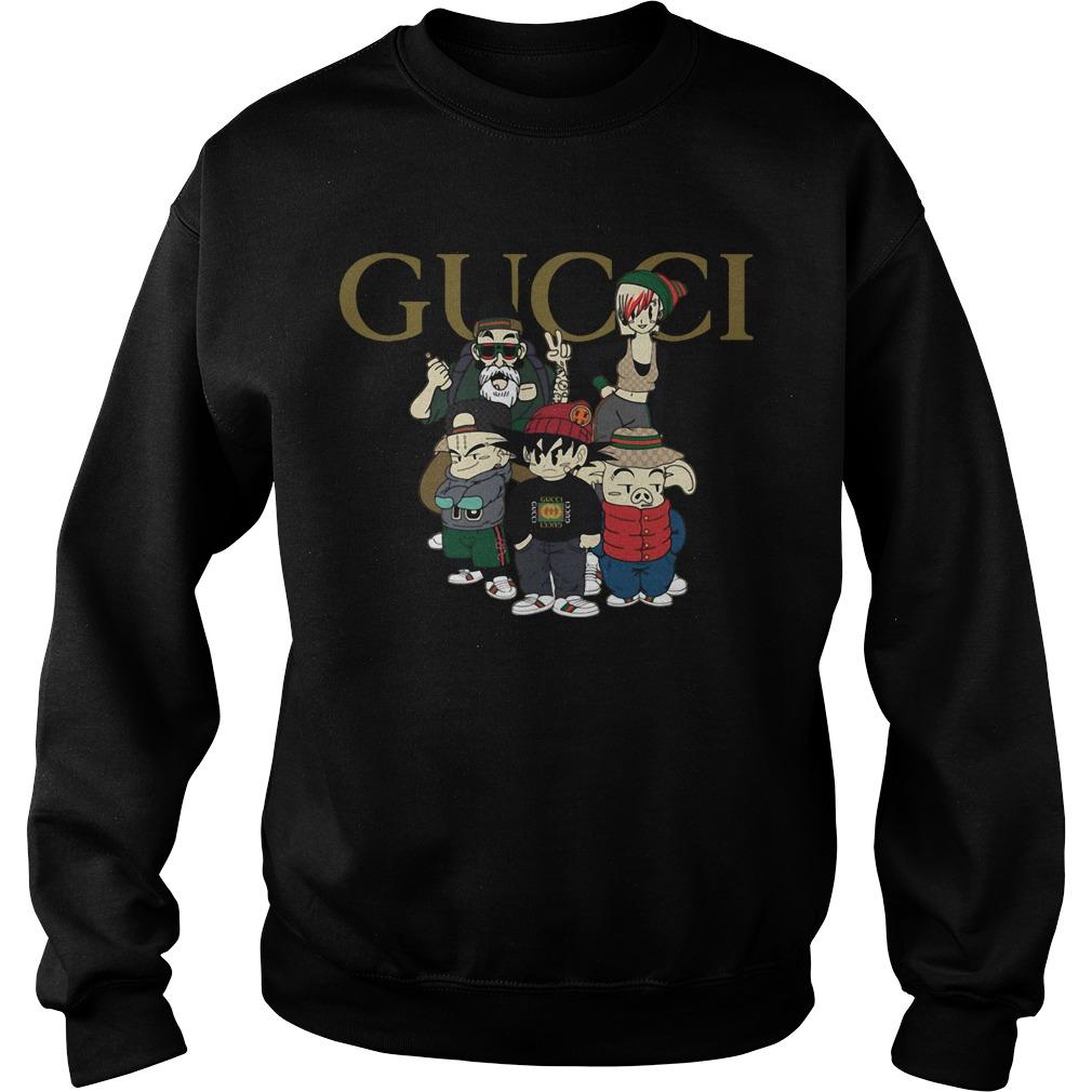 Dragon ball GUCCI mashup Sweater