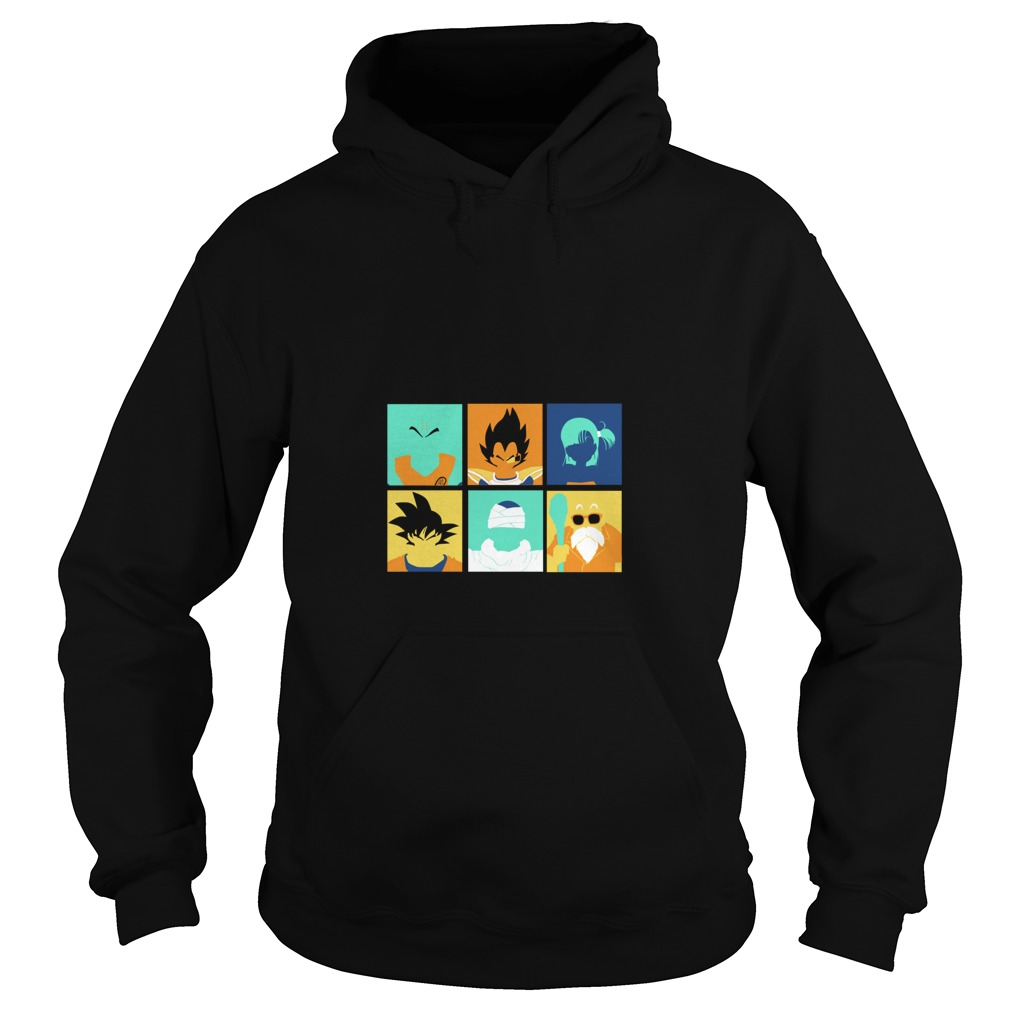 Dragon Ball pop art anime manga Hoodie