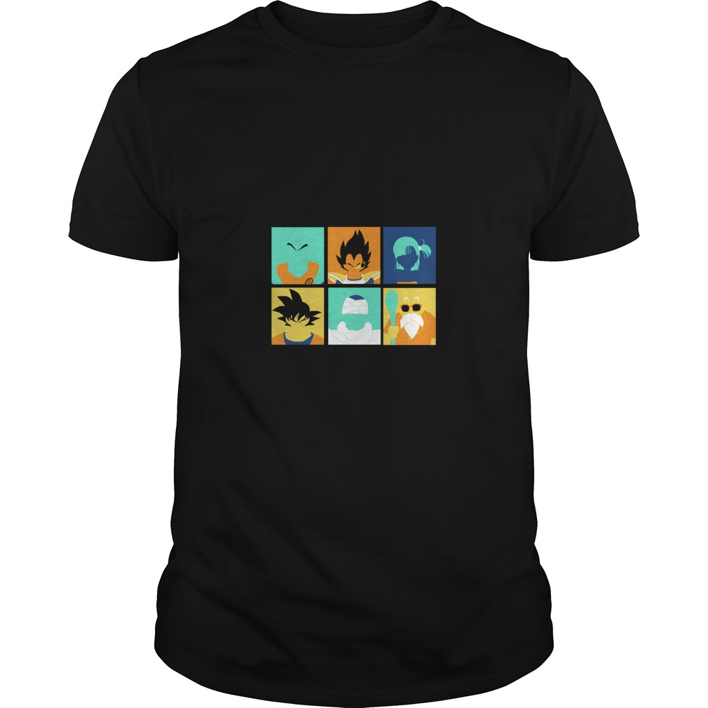 Dragon Ball pop art anime manga shirt