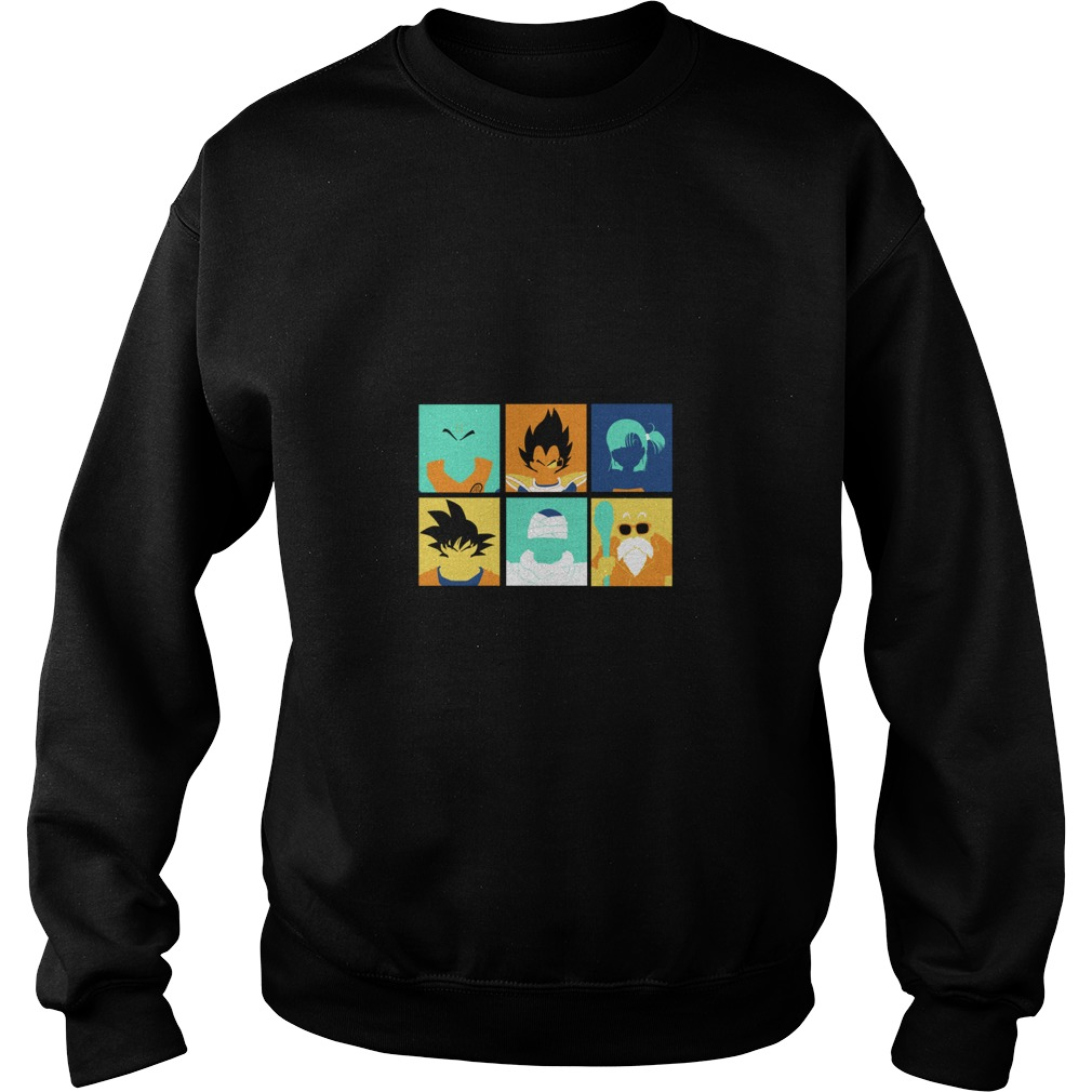 Dragon Ball pop art anime manga Sweater