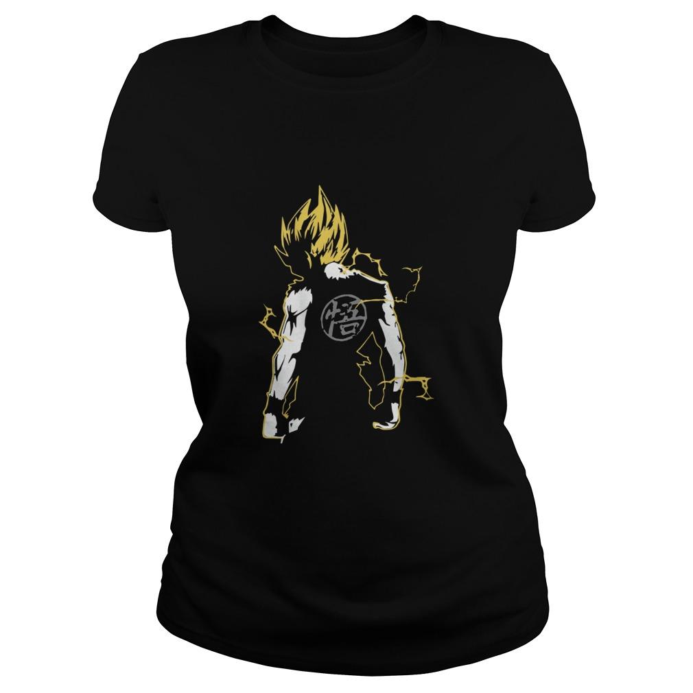 Dragon Master Goku Ladies tee
