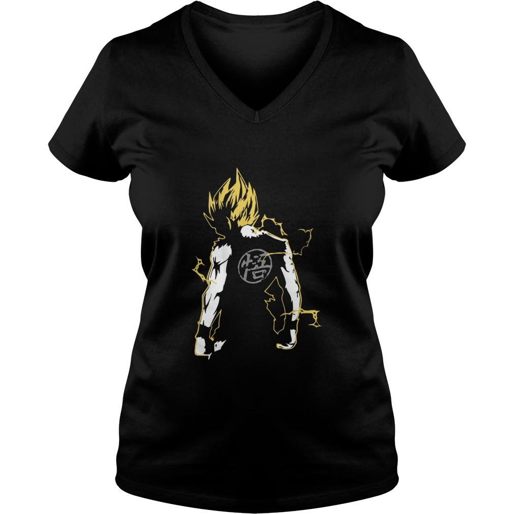 Dragon Master Goku V-neck t-shirt