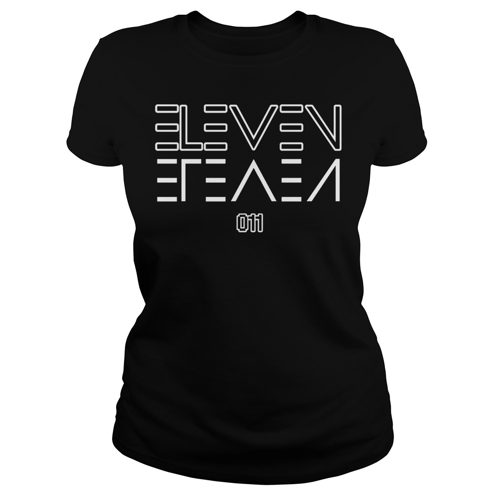 Eleven Upside Down Ladies tee