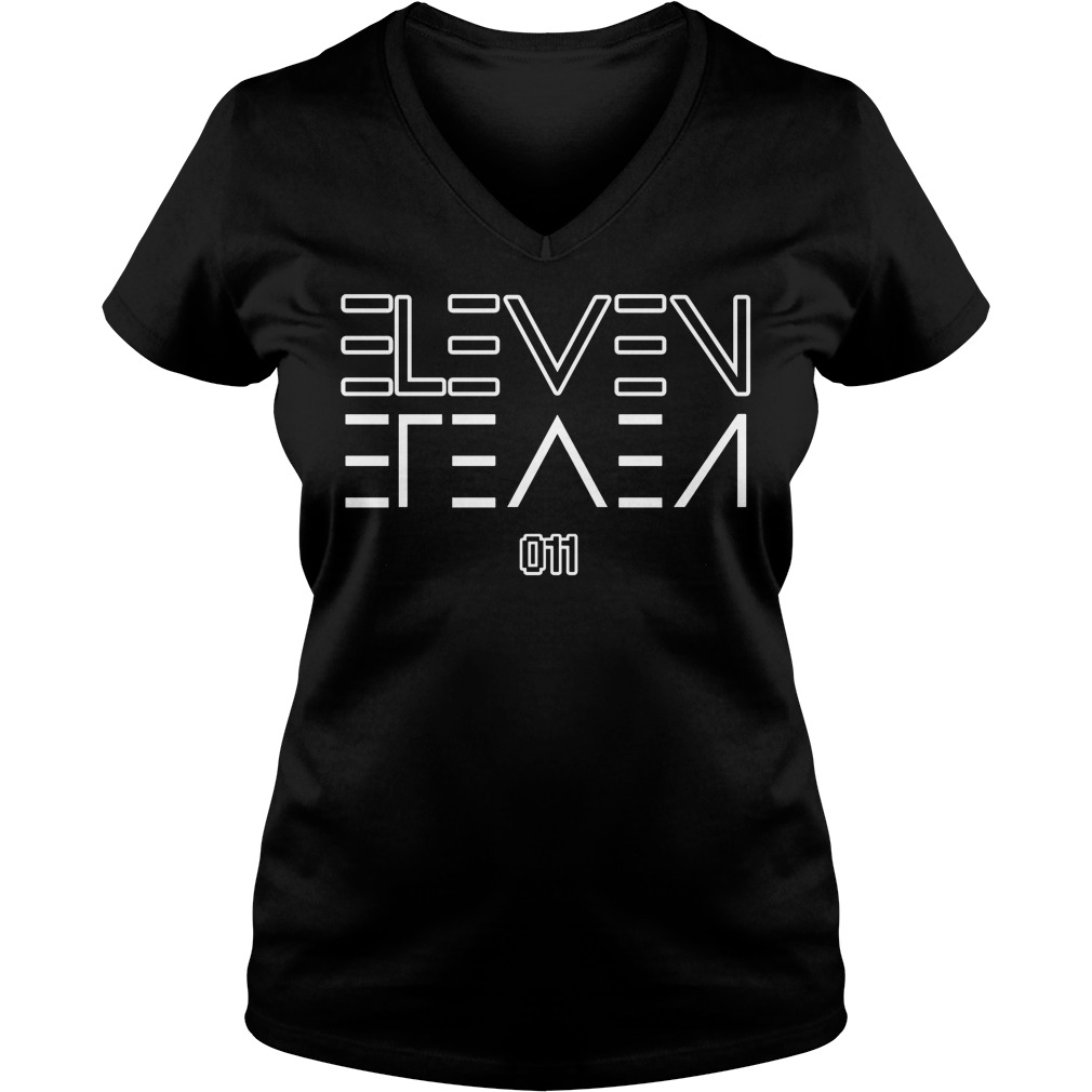 Eleven Upside Down V-neck t-shirt