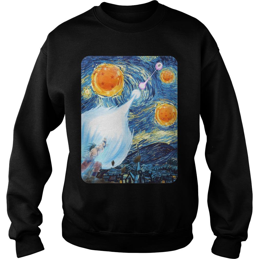 Van Goku Super Saiyan night Sweater