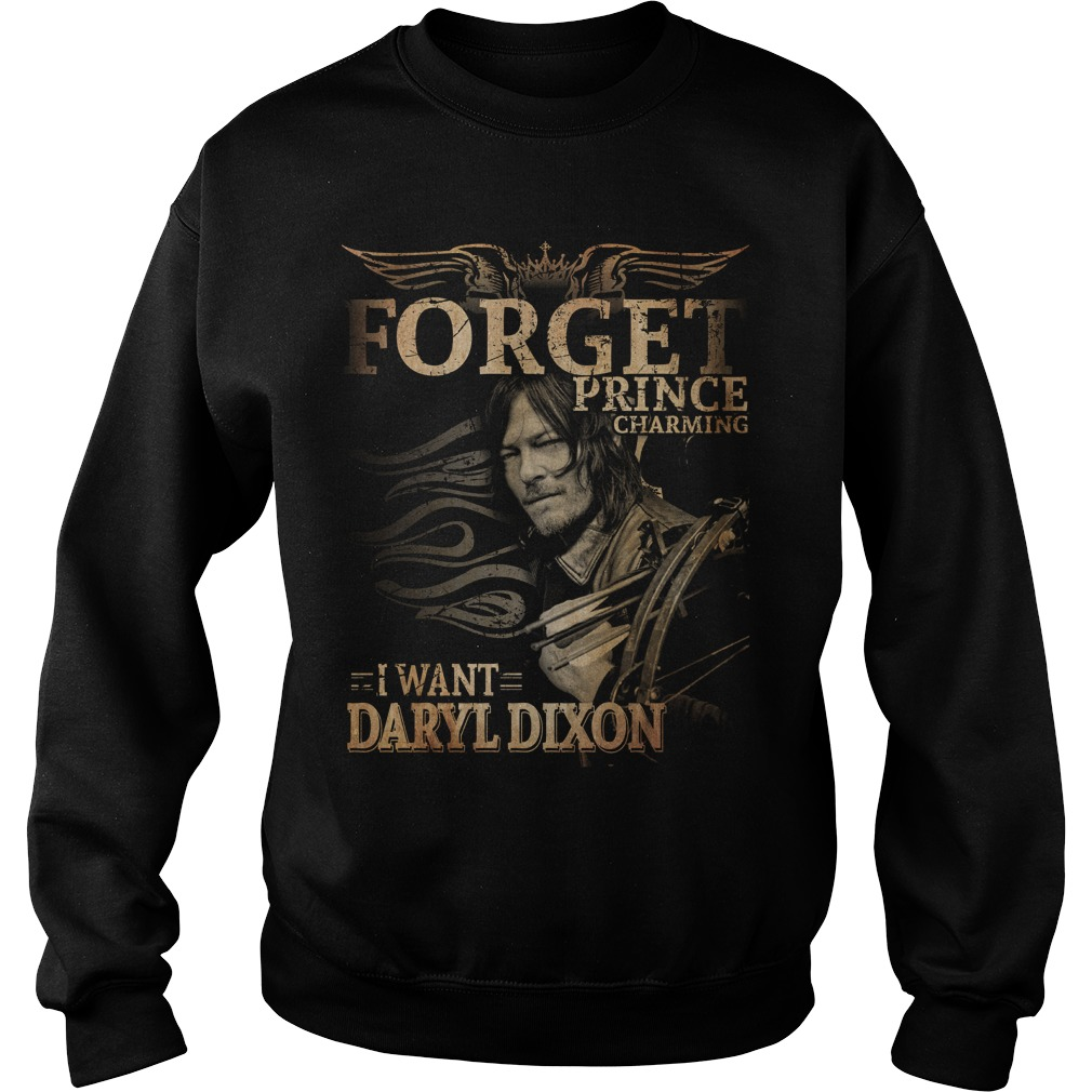 Forget prince charming I want Daryl Dixon Sweater