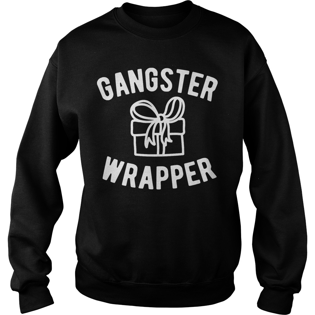 Gangster Wrapper funny Christmas Sweater