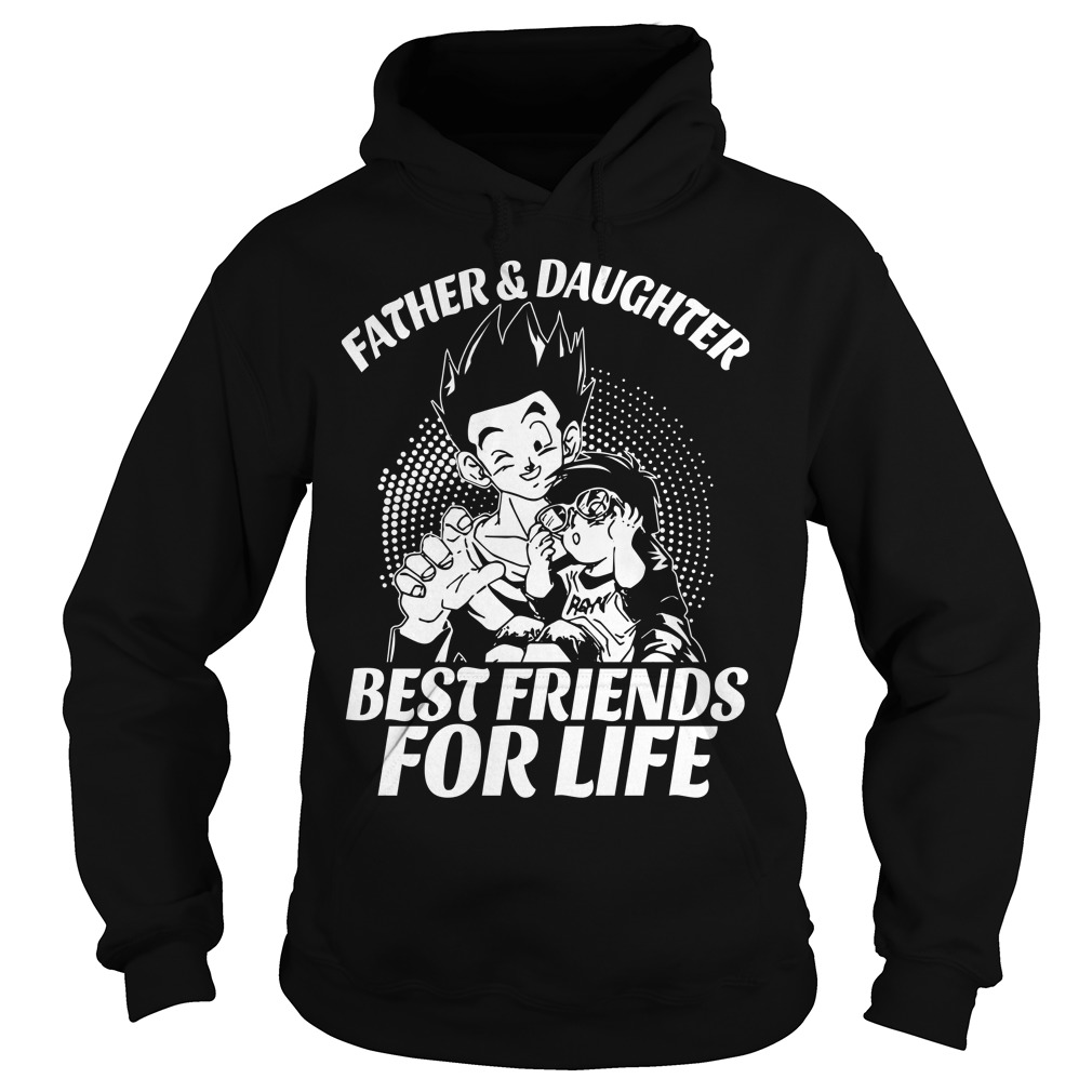 Gohan and Pan Father and Daughter Hoodie