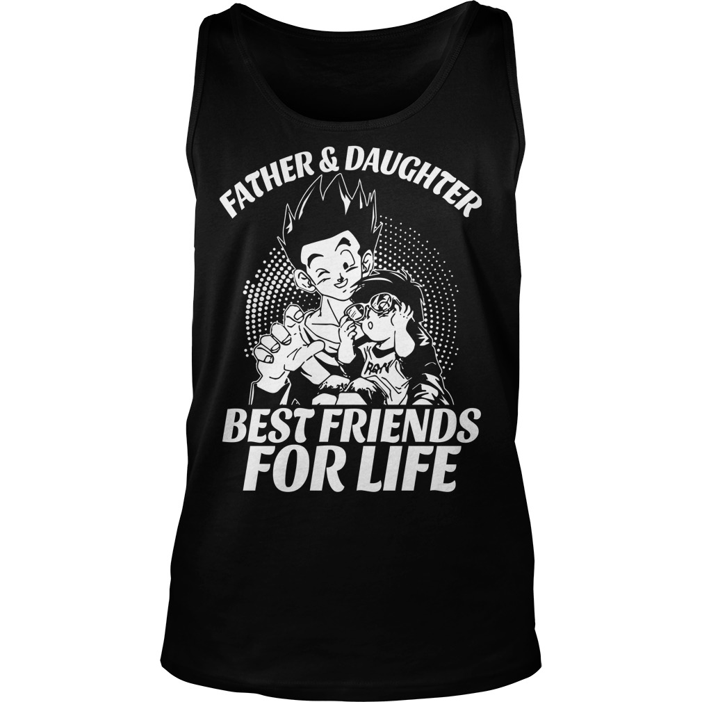 Gohan and Pan Father and Daughter Tank top