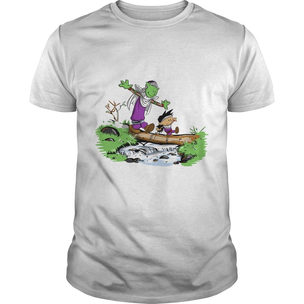 Gohan and piccolo pai shirt