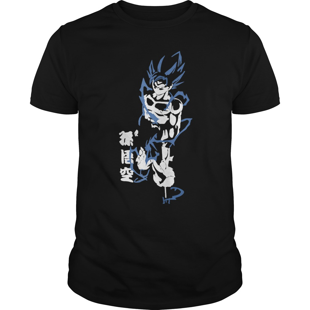 Goku Super Saiyan God leve 2 DBZ Dragon Ball Z shirt