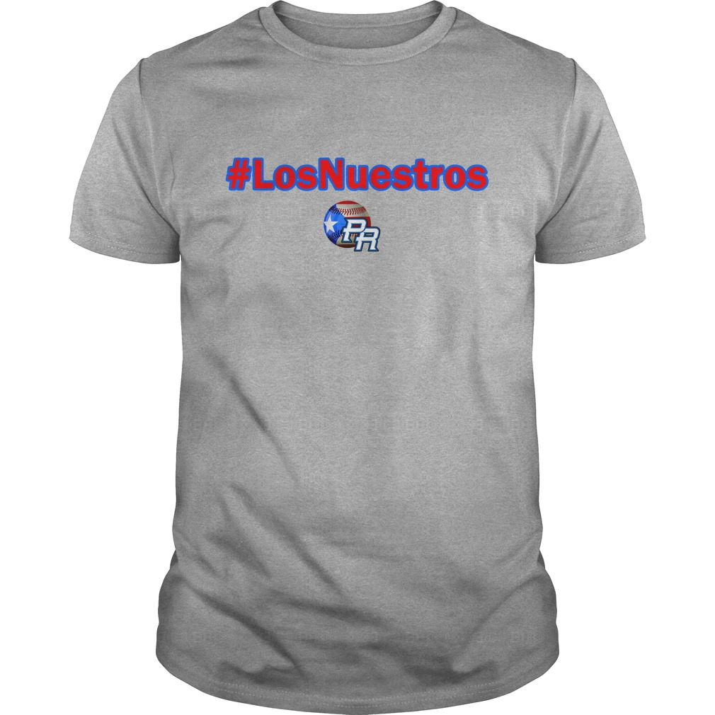 Los Nuestros PR team shirt