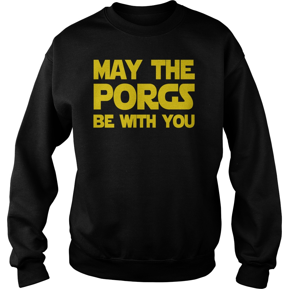 May the Porgs be with you Sweater