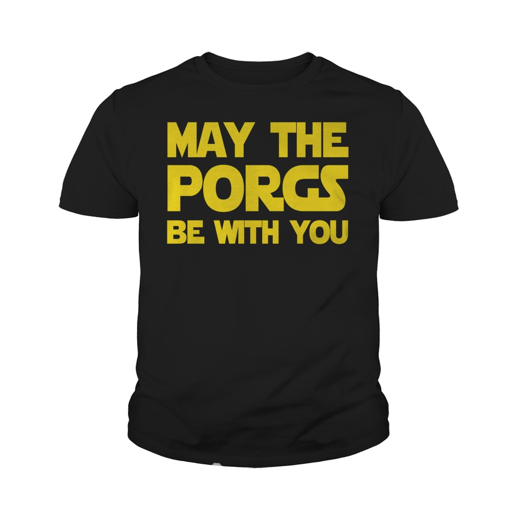 May the Porgs be with you Youth tee