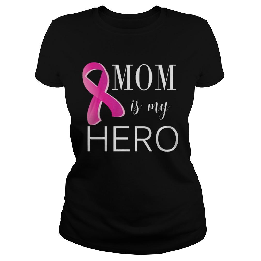 Mom is my hero - cancer Ladies tee