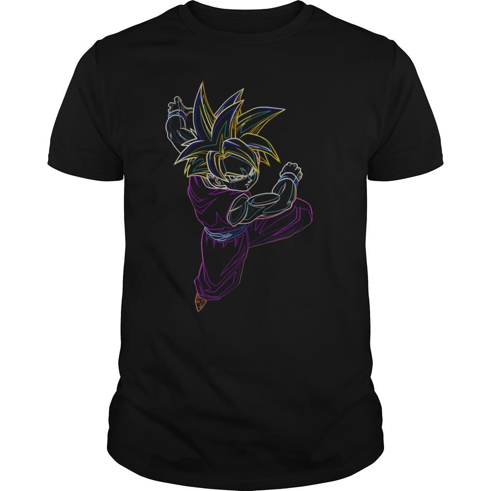 Neon Gohan SSJ shirt