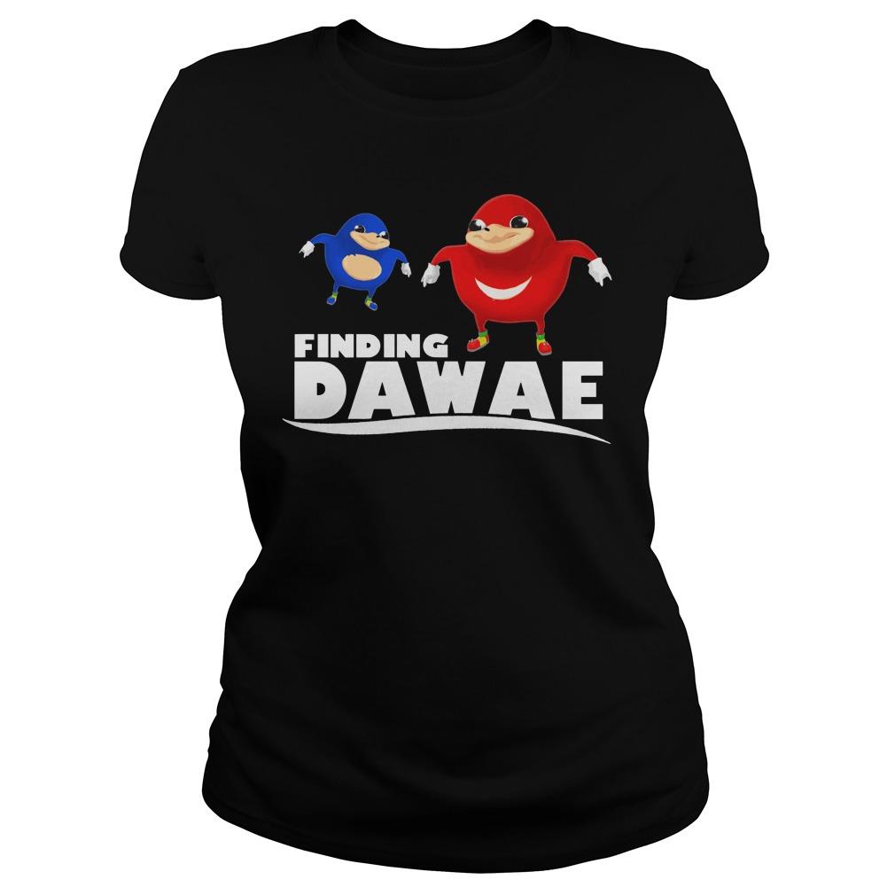 Official Finding Dawae Ladies tee