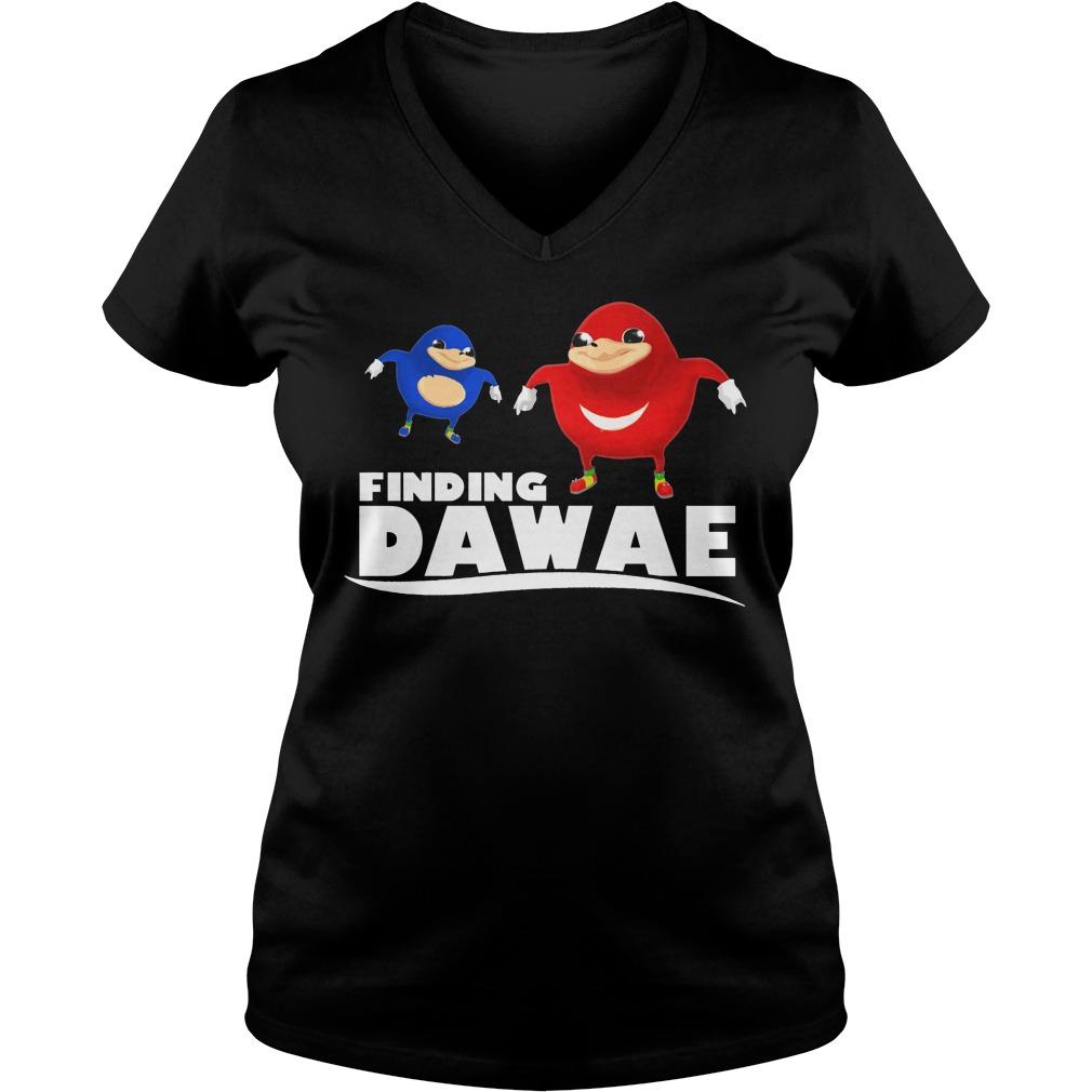 Official Finding Dawae V-neck t-shirt