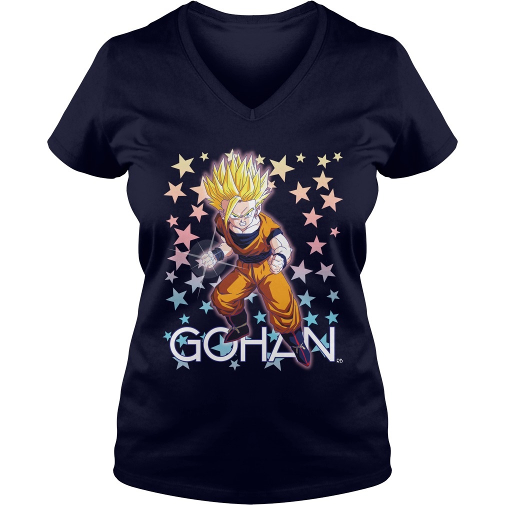 Official Gohan V-neck t-shirt