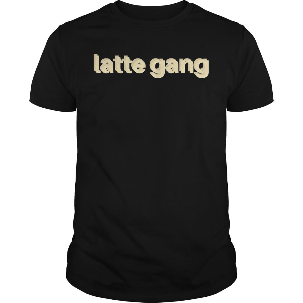 Official Latte Gang shirt