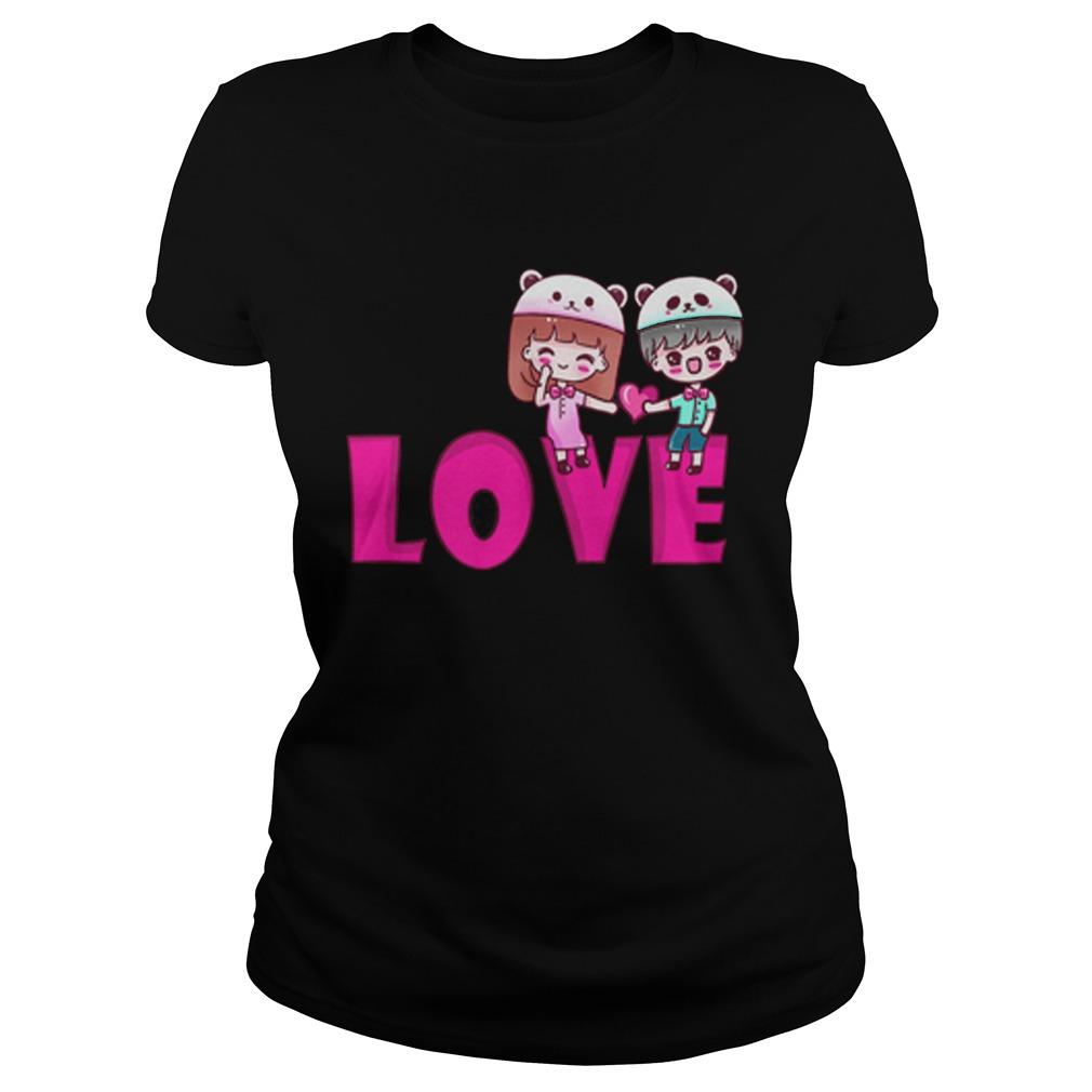 Official love period Ladies tee
