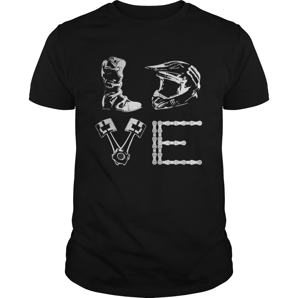 Official Motocross love shirt