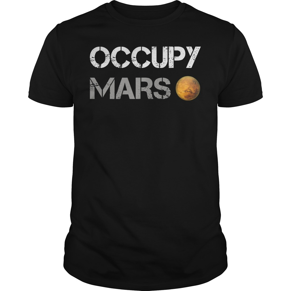 Official Occupy Mars shirt