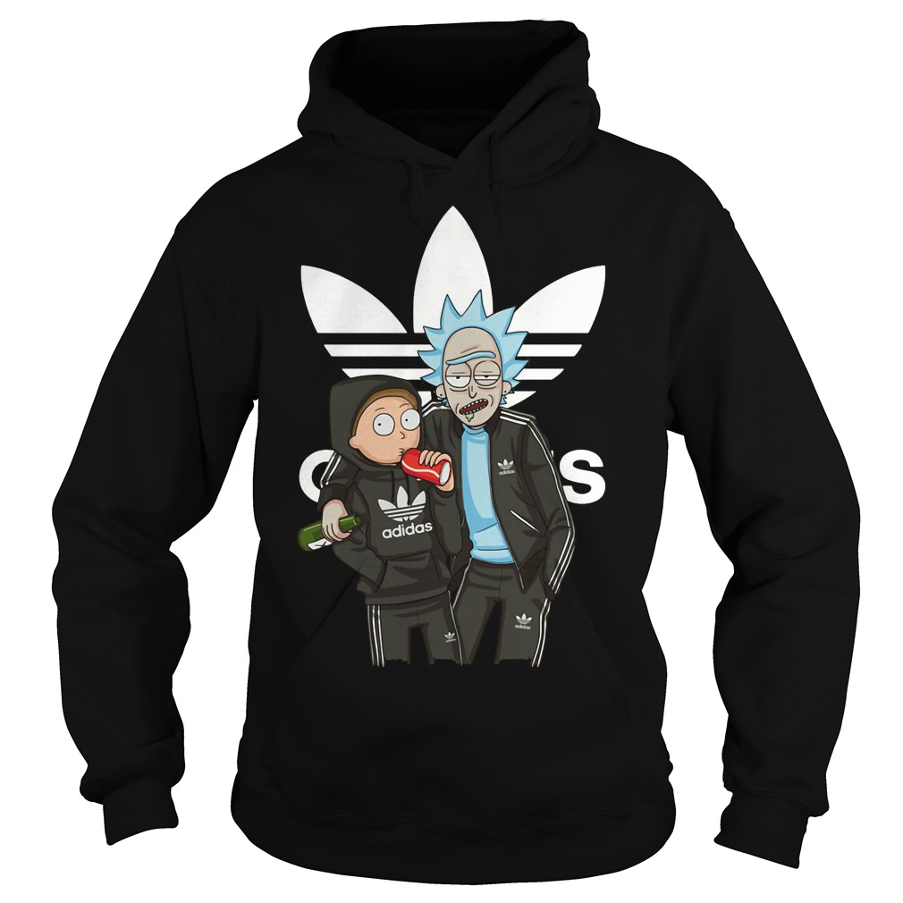 Official Rick and Morty adidas Hoodie