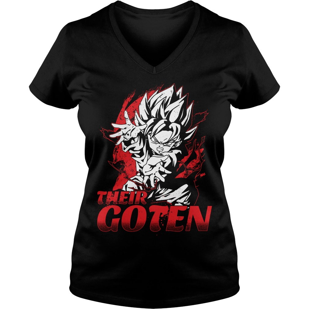 Official Super Saiyan Goten V-neck t-shirt