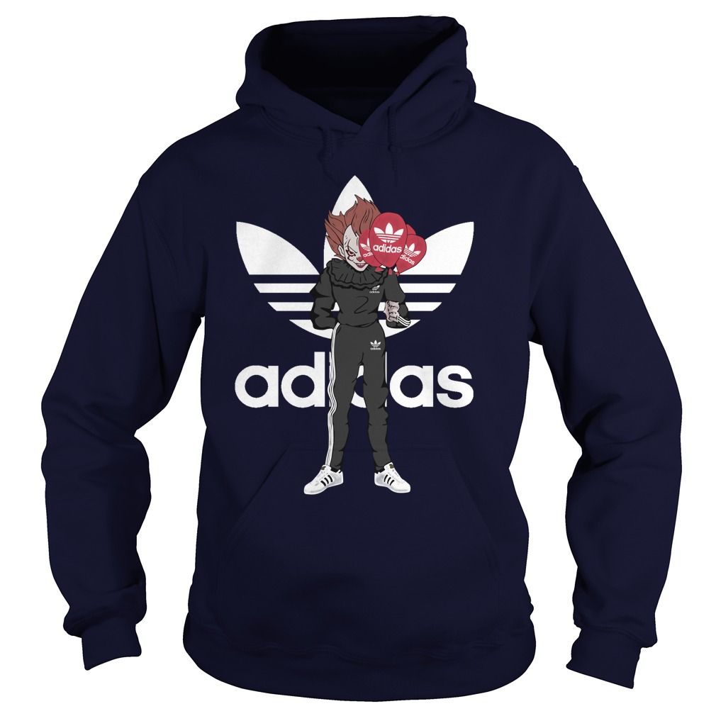 Official Pennywise IT Adidas Hoodie