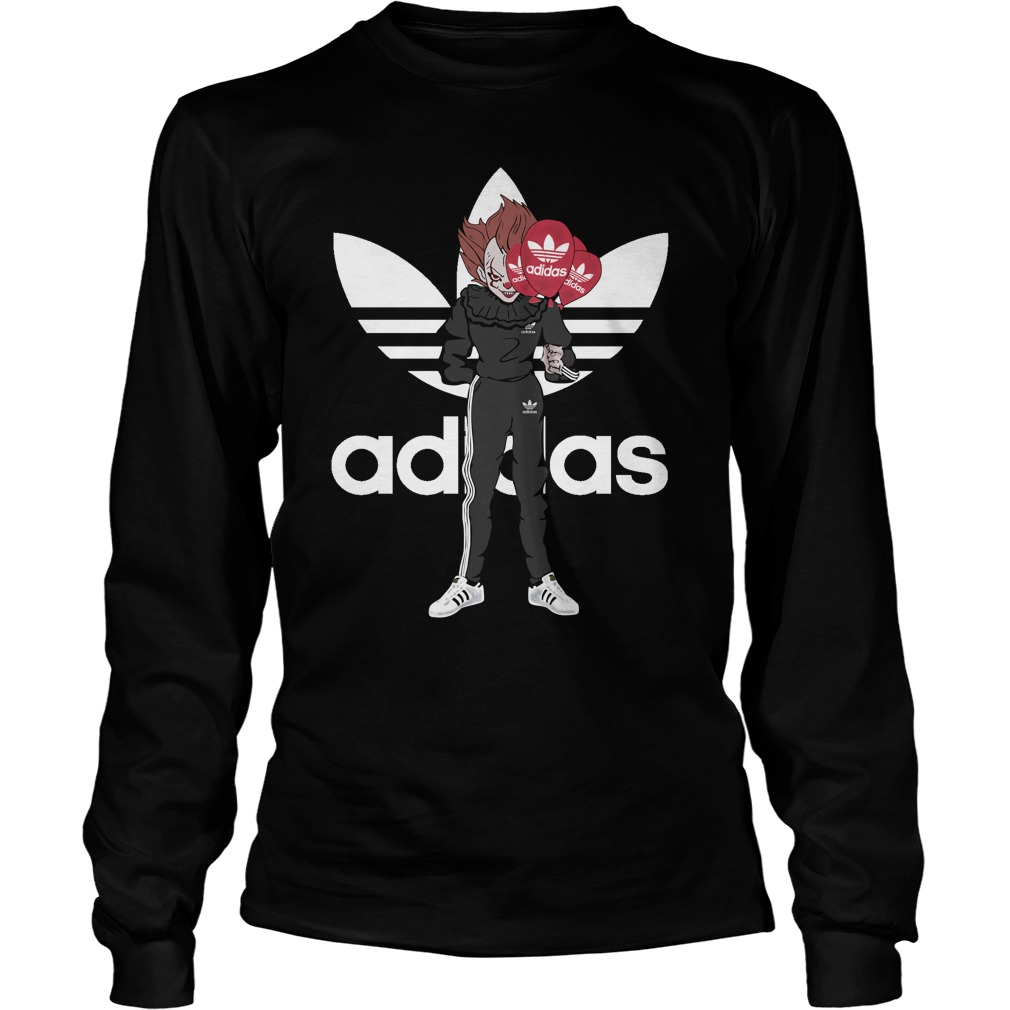 Official Pennywise IT Adidas LongSleeve