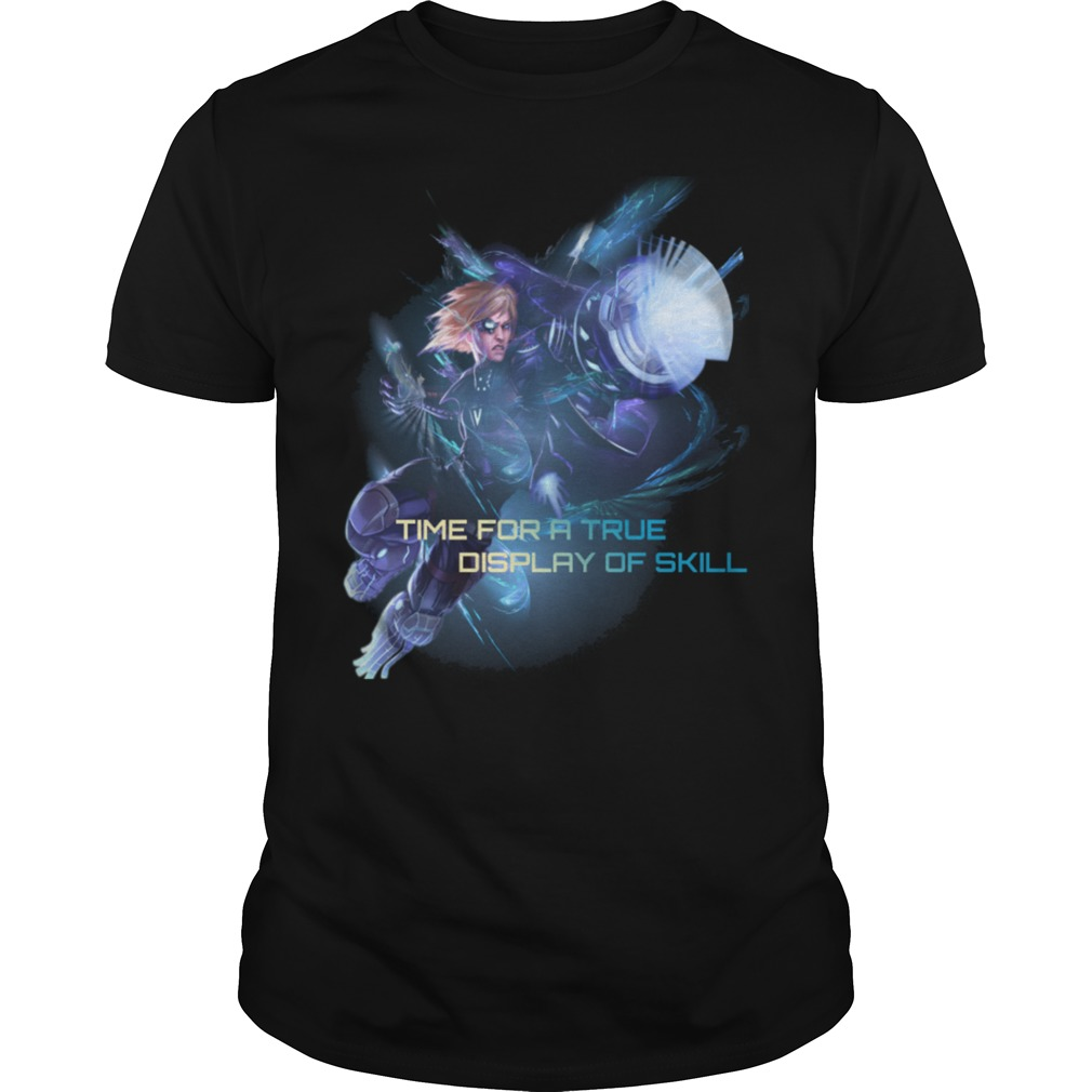 Pulsefire Ezreal time for a true display of skill shirt