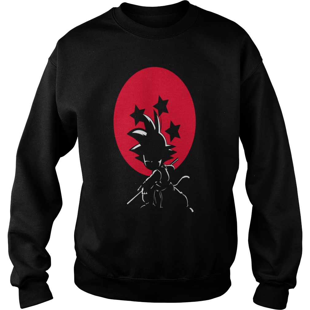 Red Ball Silhouette Goku Sweater