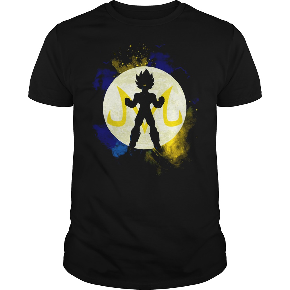 Saiyan Vegeta Goku DBZ Dragon Ball Z shirt