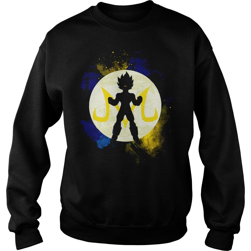 Saiyan Vegeta Goku DBZ Dragon Ball Z Sweater