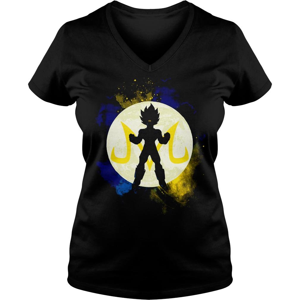 Saiyan Vegeta Goku DBZ Dragon Ball Z V-neck t-shirt